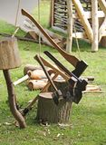 Collection of Axes. Stock Image