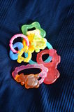 Collection of baby toys Royalty Free Stock Photography
