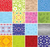 Collection of backgrounds. Vector. Royalty Free Stock Image