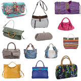Collection of bag Royalty Free Stock Images