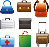 Collection Bags Royalty Free Stock Image