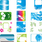 Collection banner. Banner collection,  banner, background collection Royalty Free Stock Images