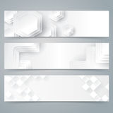 Collection banner design, white background. Stock Photography