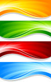 Collection of banners Royalty Free Stock Image