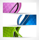 Collection of banners Stock Photos
