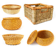 Collection of baskets Stock Photography