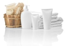 Collection of bathing articles Stock Photography