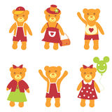 The Collection bear. . Royalty Free Stock Image