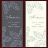 Invitation set Stock Photo