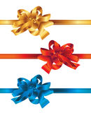 Collection of beautiful ribbons Stock Photo