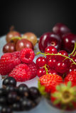 Collection of berries Royalty Free Stock Image