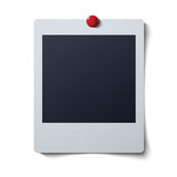 Collection of blank photo frames vector illustration Royalty Free Stock Photo
