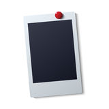 Collection of blank photo frames vector illustration Stock Photo