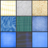 Collection of blueprint background Royalty Free Stock Image
