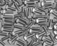 A collection of bolts Royalty Free Stock Image