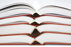 Collection of books Stock Image