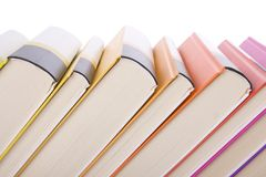 Collection of books Royalty Free Stock Photo