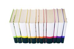 Collection of books Royalty Free Stock Image