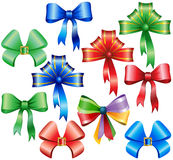Collection of bow Stock Photography