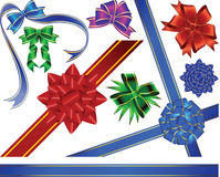 Collection bows vector illustration