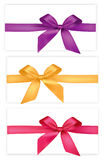 Collection of bows. Stock Images