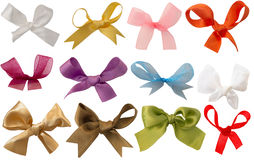 Collection of bows Stock Photography