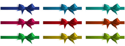 Collection of bows Royalty Free Stock Image