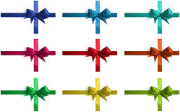 Collection of bows Stock Photo