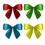 Collection of bows Royalty Free Stock Images