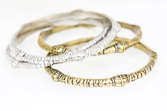 Collection of bracelets stock photos