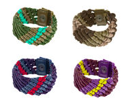 Collection of bracelets Royalty Free Stock Photography