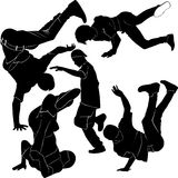 Collection breakdance Stock Photography