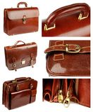 Collection of Briefcases Stock Images