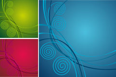 Collection bright abstract background Stock Photography