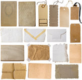 Collection of brown notes Stock Photos
