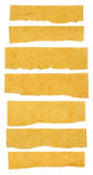 Collection Of Brown Texture Paper Tears Royalty Free Stock Image