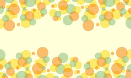 Collection of bubble abstract background style. Vector art Stock Images