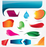 Collection bubbles for speech. Vector Royalty Free Stock Photography