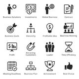 Collection of Business Icons - Set 2. Business icons, great for presentations, web design or any type of design projects Royalty Free Stock Photo