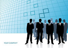 Collection of businessman. Vector illustration Royalty Free Stock Image