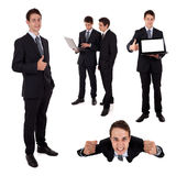 Collection of business people Stock Photography