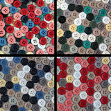 Collection of buttons of different colors Royalty Free Stock Image