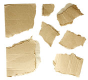 Collection of a cardboard Royalty Free Stock Image