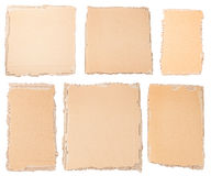 Collection of a cardboard pieces Royalty Free Stock Image