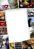 Collection of Carnival photos Stock Photo