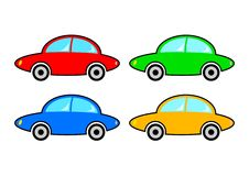 Collection of cars Royalty Free Stock Photos
