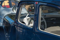 Collection cars for vintage car show Stock Photography