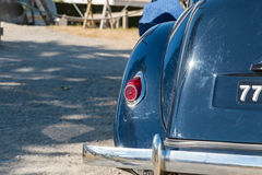Collection cars for vintage car show Royalty Free Stock Image
