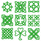 Collection of Celtic knots Royalty Free Stock Photo