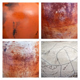 Collection of ceramic background or texture royalty free stock photography